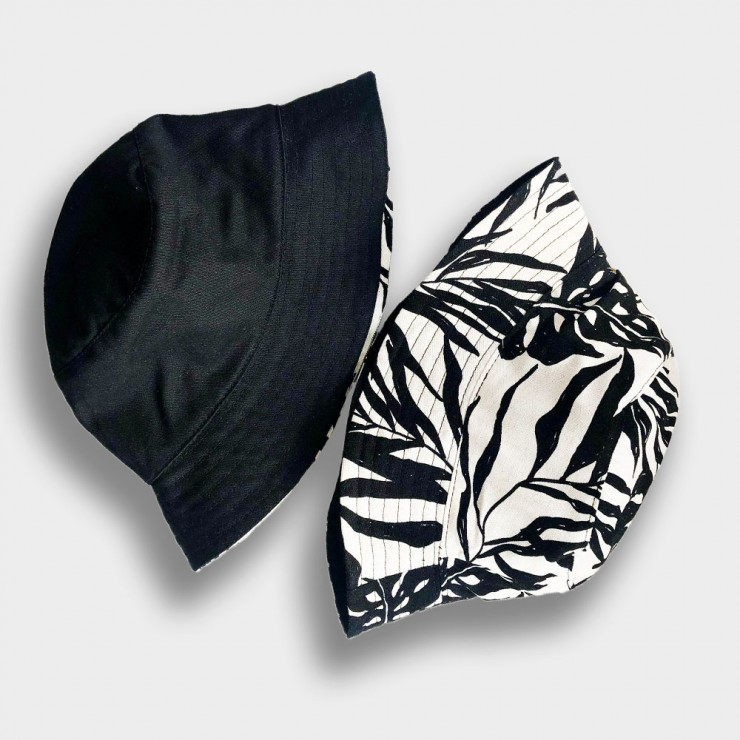 Two-Tone Panama Plant and Black