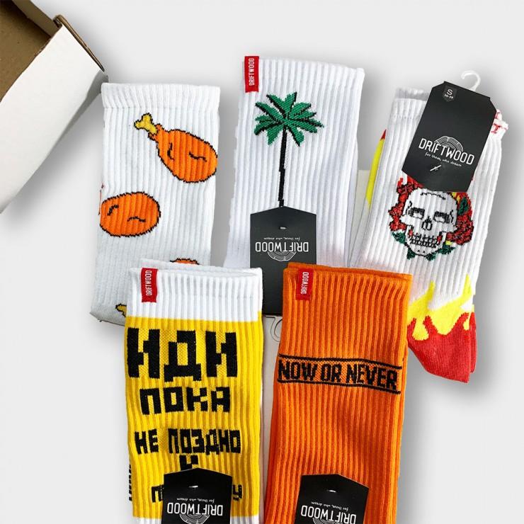 """""""Mix Of Socks 2"""" Подарочный набор из 5 пар носков"""