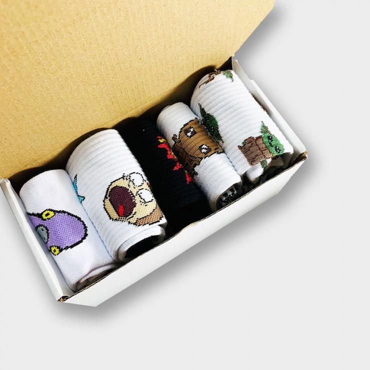 """""""Platinum Box"""" Подарочный набор из 5 пар носков"""